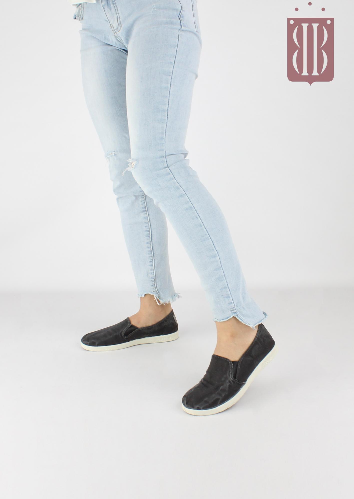 c183c101c1 NATURAL WORLD scarpe Donna Slip on Elastico Cotone Bio plantare estraibile  vegan shoes