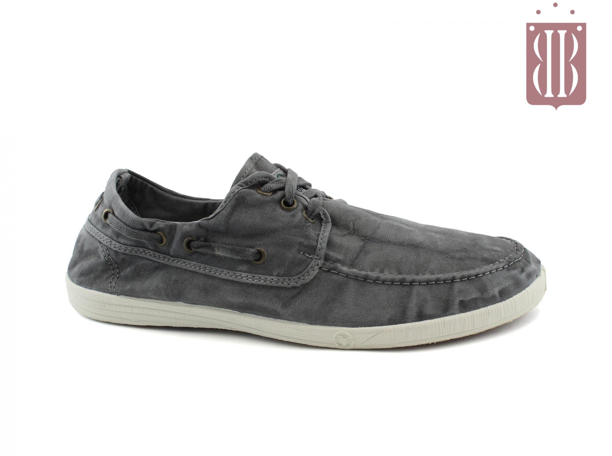 56d5862acf NATURAL WORLD scarpe Uomo lacci cotone bio plantare estraibile vegan shoes
