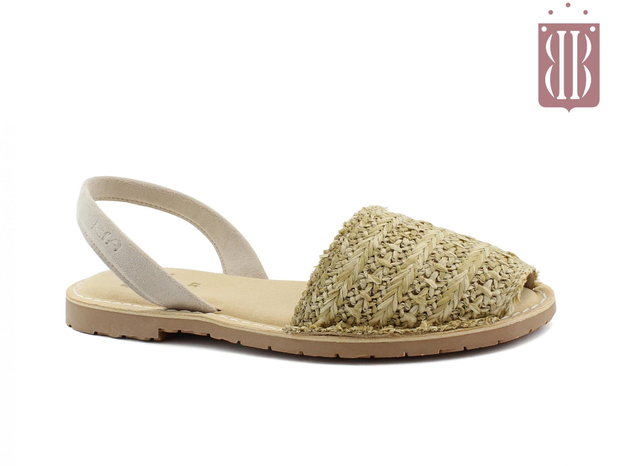 new product 72b20 c1ceb RIA scarpe donna sandali minorchine sottopiede imbottito vegan shoes