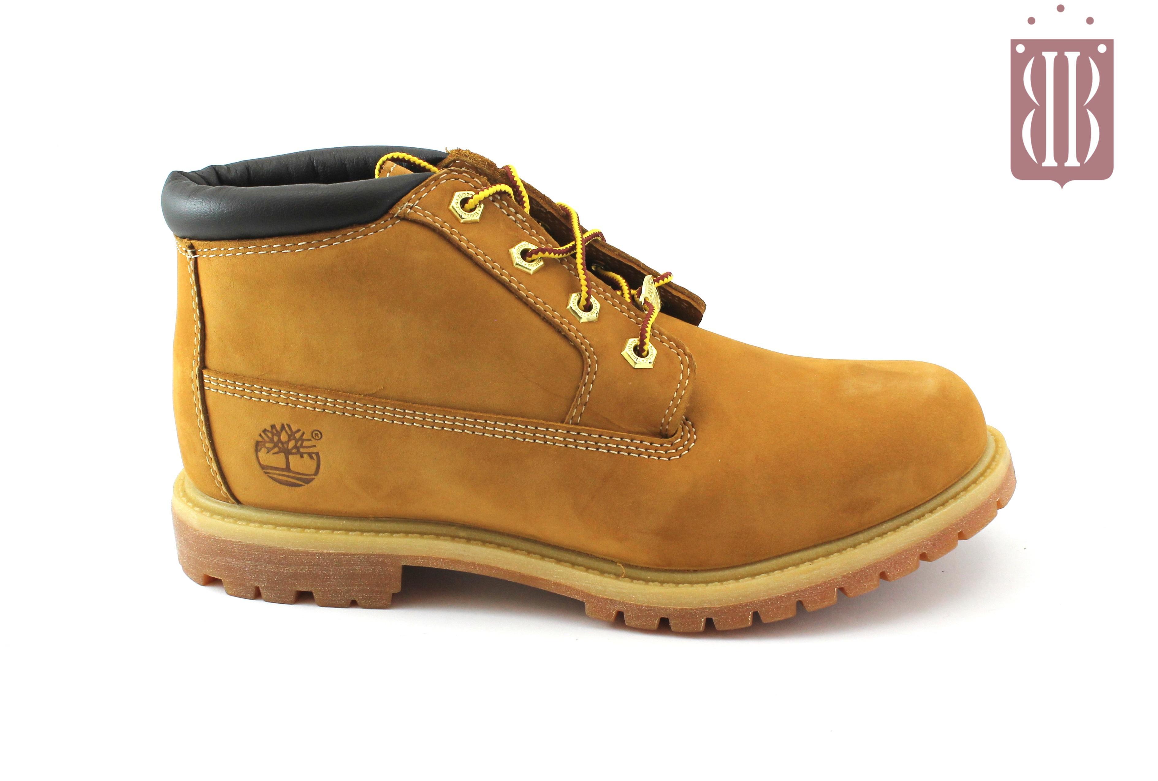 TIMBERLAND 23061 yellow giallo scarpe uomo scarponcini pelle waterproof